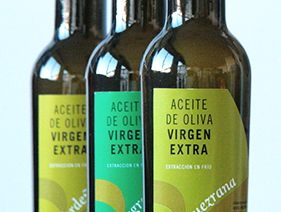 Diseño Packaging y Etiquetas Botellas. Aceites Ferrer